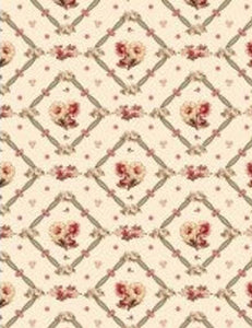 Bricolage Ivory Floral Fabric 98640-173 from Wilmington by the yard