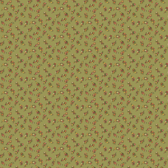 Carlisle Green Floral leaf 8471-NG from Andover by the yard