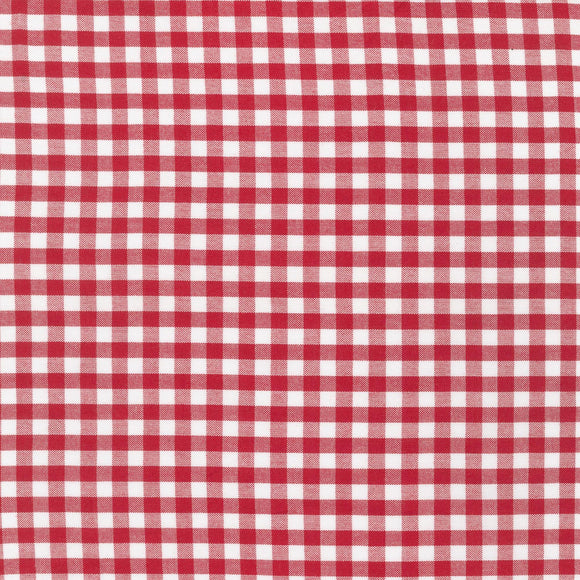 Carolina Yarn Dyed Crimson Quarter Inch Gingham Fabric P16368-91 from Robert Kaufman