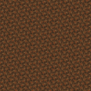 Cheddar & Chocolate Brown Bittersweet Fabric R170738-0113 from Marcus by the yard