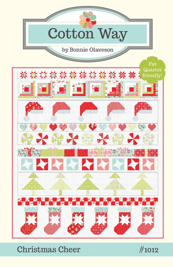Christmas Cheer Quilt Pattern from Bonnie Olaveson
