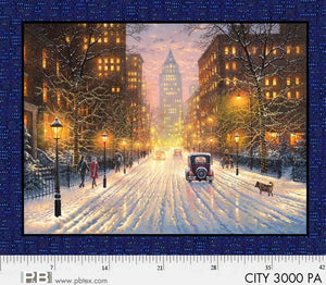 "City Lights 33"" x 44"" Digital Panel 03000-PA from P & B by the panel"