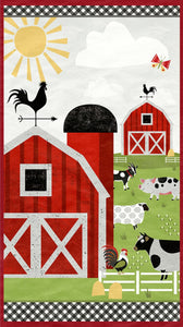 "Country Life 24"" x 44""Panel 68540-371 from Wilmington by the panel"