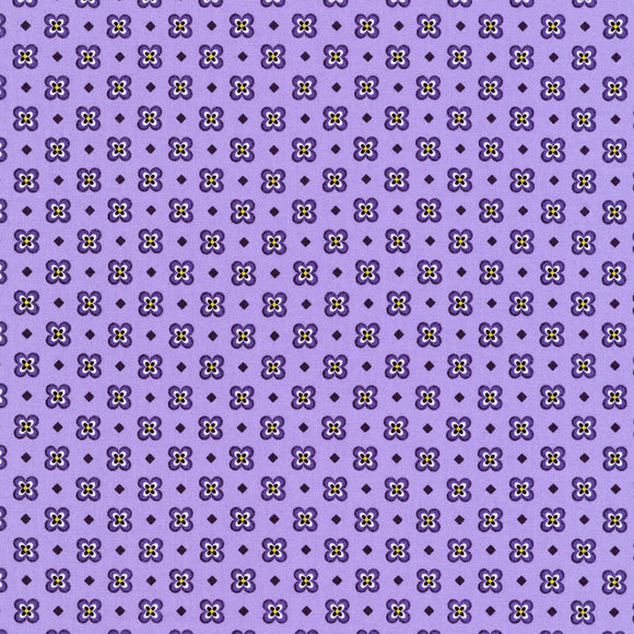 Elizabeth Small Purple Floral Fabric 19897-6 from Robert Kaufman by the yard