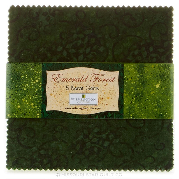 Emerald Forest 5 Karat Gems Pack from Wilmington by the pack