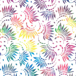 "Essentials 108"" White Petals Widebacking Fabric 2086-154 from Wilmington by the yard"