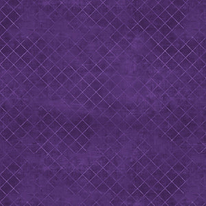 "Essentials Purple Trellis 108"" Wideback Fabric 7215-660 from Wilmington by the yard"