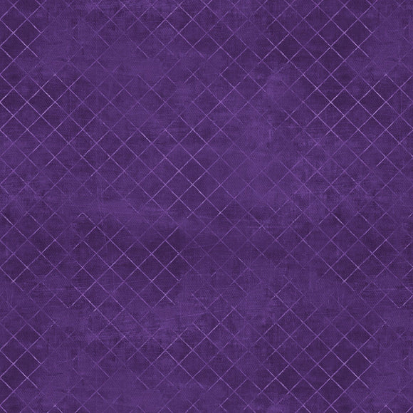 Essentials Purple Trellis 108