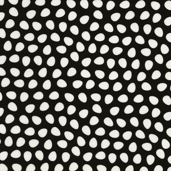 Farm Fresh Black Hen Eggs Fabric C6693 from Timeless Treasures by the yard