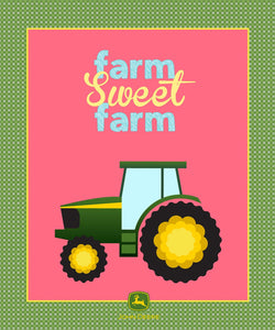 "Farm Sweet Farm 36"" x 44"" Panel 70217-A620715 from Springs Creative by the panel"