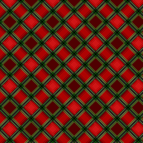 Farmers Market Red Plaid Fabric 4455-88 from Studio E by the yard