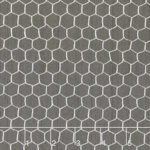 Free Range Fresh Charcoal Gray Chicken Wire Fabric 16514-991 from Wilmington by the yard
