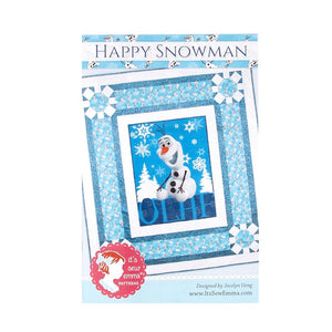 Happy Snowman Pattern from Its Sew Emma
