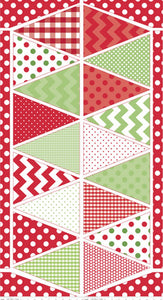 Holiday Banners Multi Banner Panel P560-Multi from Riley Blake