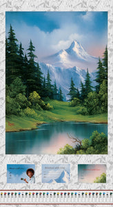 "Joy of Painting Bob Ross 24"" x 44"" Digital Panel 5434P-76 from Studio E by the panel"