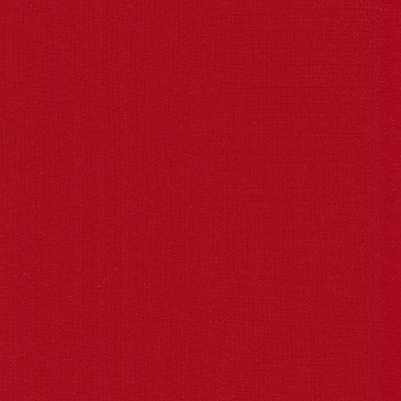 Kona Ruby Red Solid Fabric 352 from Robert Kaufman by the yard