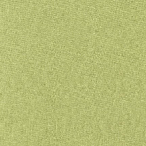 Kona Artichoke Green Solid Fabric #347 from Robert Kaufman by the yard