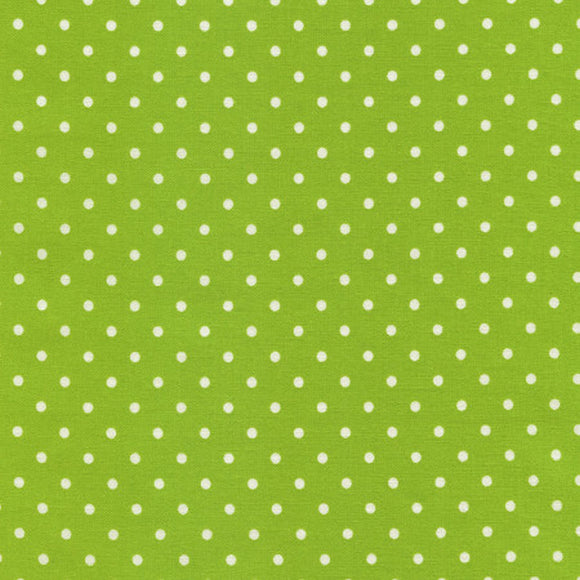 Lime Dots Fabric 1820 from Timeless Treasures by the yard
