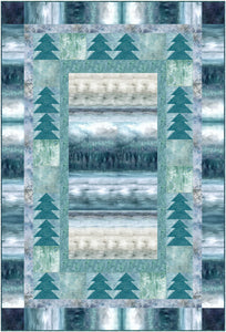 Misty Forest II Quilt Kit
