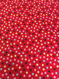 Monkey 'N Round Red Dot 15073-37 from Moda