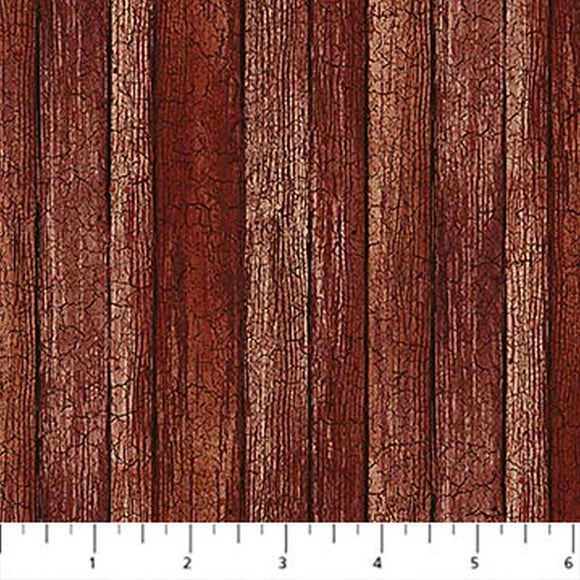 Nature's Calling Redwood Barnwood Fabric 24039-26 from Northcott by the yard