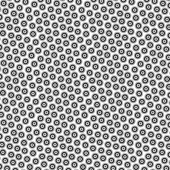 Night & Day Dotty Buttons White/Black Fabric 10401-99 from Kanvas/Benartex by the yard