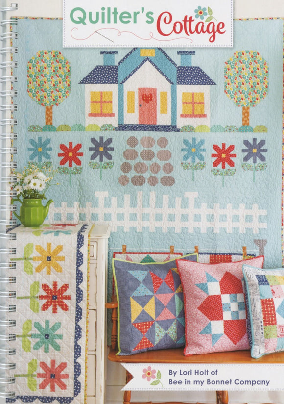 Quilter's Cottage Quilting Book by Lori Holt by the book