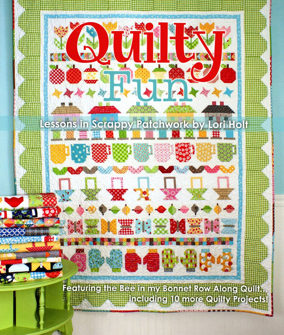 Quilty Fun Quilting Book from Bee In My Bonnet