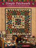 Simple Patchwork Quilting Book by Kim Diehl by the book