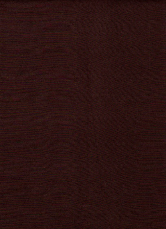 Simply Primitive Solid Burgundy Batik B0812 from Batik Textiles