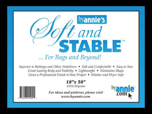 "Soft And Stable Black 18"" x 58"" Stabilizer"