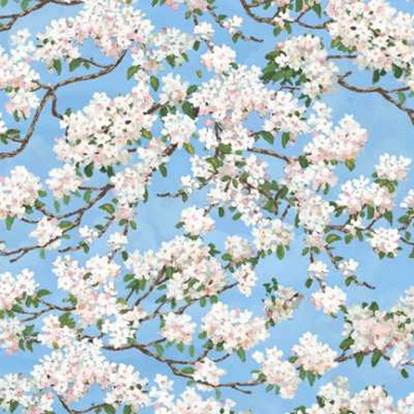 Summerwind Farm Blue Blossoms 68773-417S from South Sea Imports