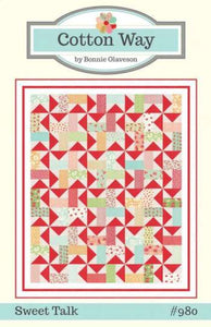 Sweet Talk Quilt Pattern by Bonnie Olaveson for Cotton Way