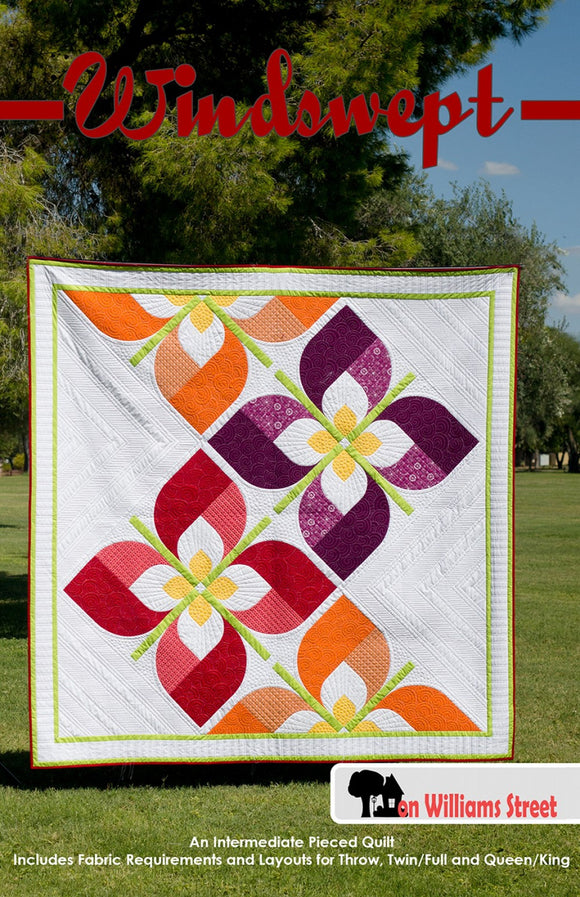 Windswept Quilt Pattern