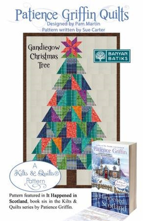 Kilts & Quilts Gandiegow Christmas Tree Quilt Pattern