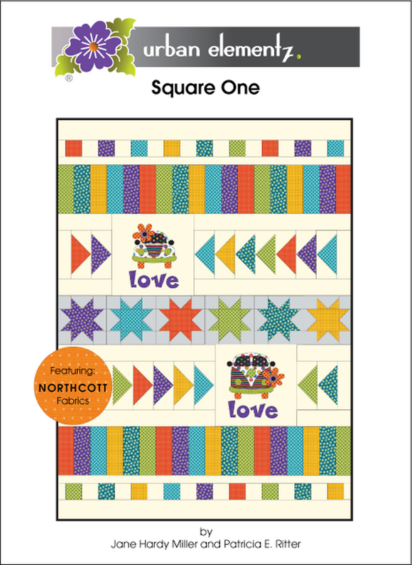 Square One Quilt Pattern from Urban Elementz