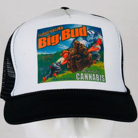 Vagina Big Buds Trucker Hat