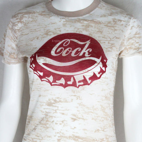 Enjoy Cock Burn Out Shirt
