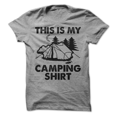 This Is My Camping Shirt T-Shirt - happycamperoutfitters