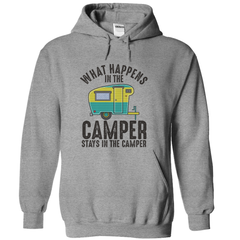 What Happens In The Camper Stays In The Camper T-Shirt - happycamperoutfitters