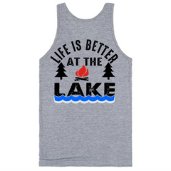 Life Is Better At The Lake T-Shirt - happycamperoutfitters