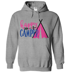 Happy Camper Tent T-Shirt - happycamperoutfitters