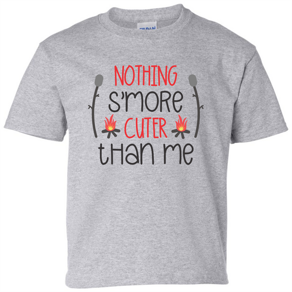 Nothing S'more Cuter Than Me T-Shirt - happycamperoutfitters