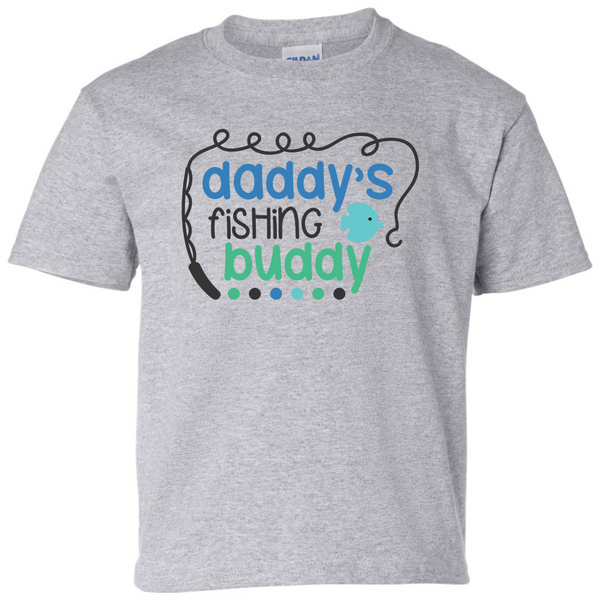 Daddy's Fishing Buddy T-Shirt - happycamperoutfitters