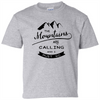 The Mountains Are Calling And I Must Go T-Shirt - happycamperoutfitters