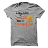 I Just Want To Smell Like A Campfire T-Shirt - happycamperoutfitters