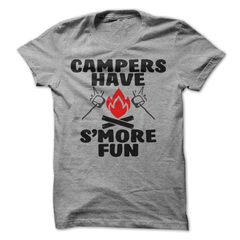 Campers Have S'more Fun T-Shirt - happycamperoutfitters