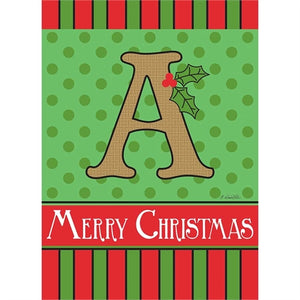 "Holiday Monogram ""A"""