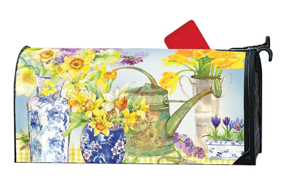 Daffodils in Vases MailWrap®