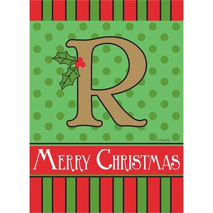 "Holiday Monogram ""R"""